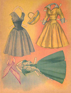Loretta Young Paper Dolls Page 4