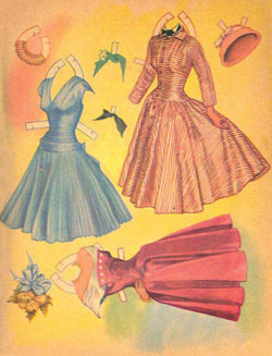 Loretta Young Paper Dolls Page 5