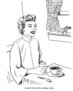 Loretta Young Coloring Book Page 8