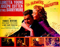 The Farmer's Daughter Poster